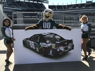 Philadelphia Eagles NASCAR Paint Scheme