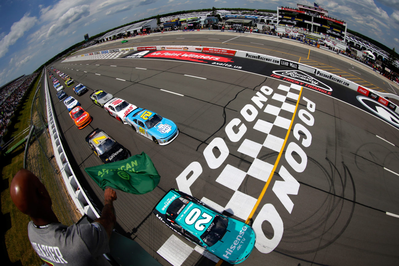 Pocono Raceway Results - NASCAR Xfinity Series - June 10, 2017