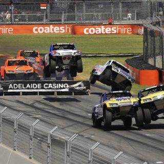 Robby Gordon Australia after Trophy Truck Stunt