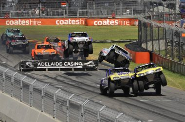 Robby Gordon Australia after Trophy Truck Stunt