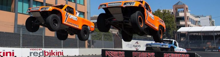 Robby Gordon Racing Banned from Australia after Stadium Truck Stunt
