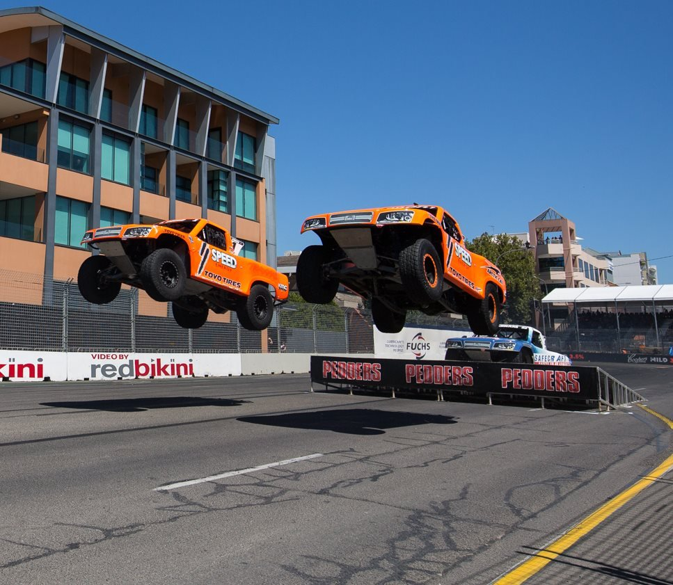 Robby Gordon Banned from Australia after Trophy Truck Stunt