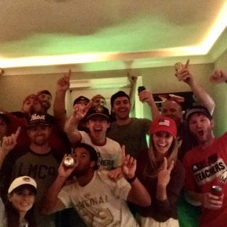Ryan Blaney NASCAR Party - First Win