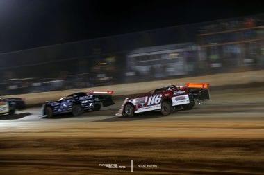 Scott Bloomquist and Brandon Overton - Dirt Late Model Dream Results
