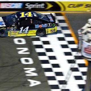 Sonoma Raceway Tony Stewart Winning Car