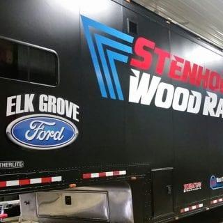 Stenhouse Jr Wood Racing