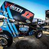 Stenhouse Jr Wood Racing Dirt Sprint car
