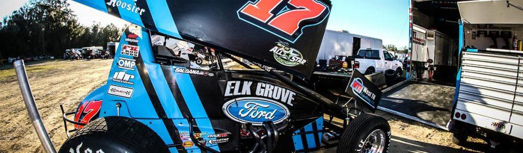 Kyle Larson drives Ricky Stenhouse Jr's Sprint Car Team to First Win