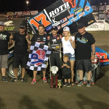 Stenhouse Jr Wood Racing Kyle Larson Win
