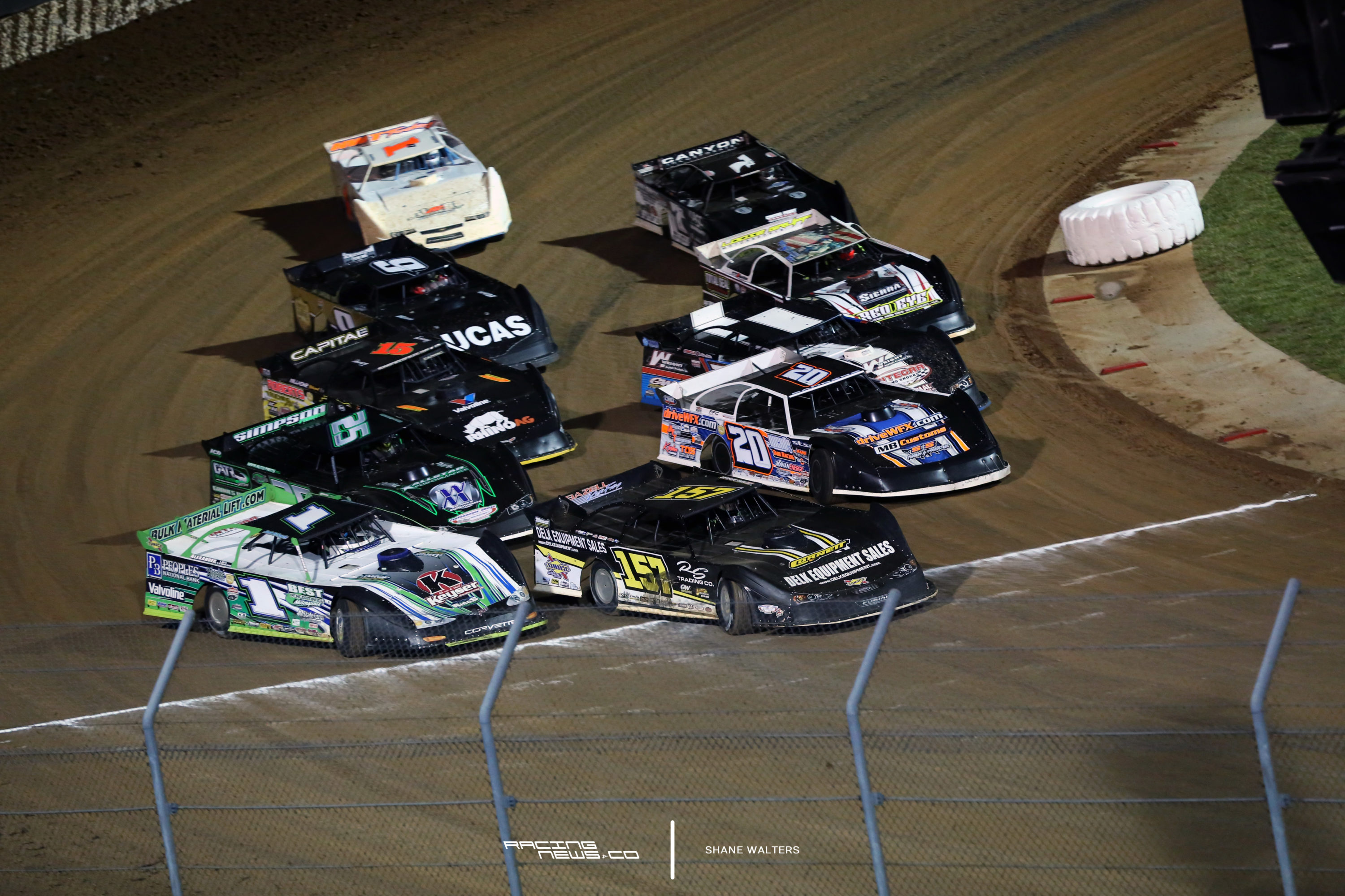 The Lucas Oil Late Model Dirt Series Invades Ohio