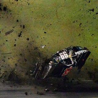 Timothy Peters Crash at Texas Motor Speedway