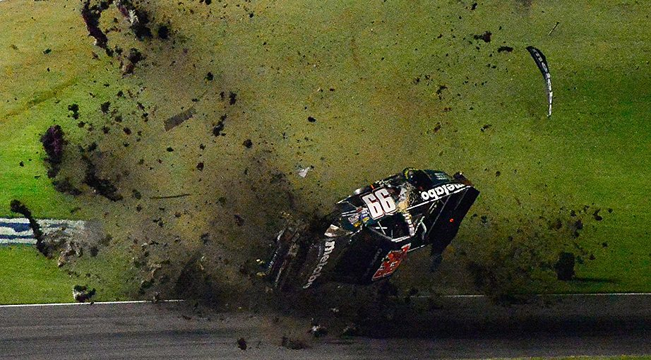 Timothy Peters Crash at Texas Motor Speedway