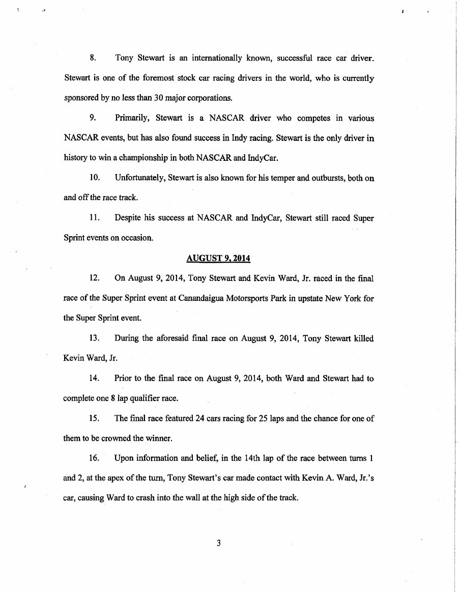 Tony Stewart Lawsuit Page 4