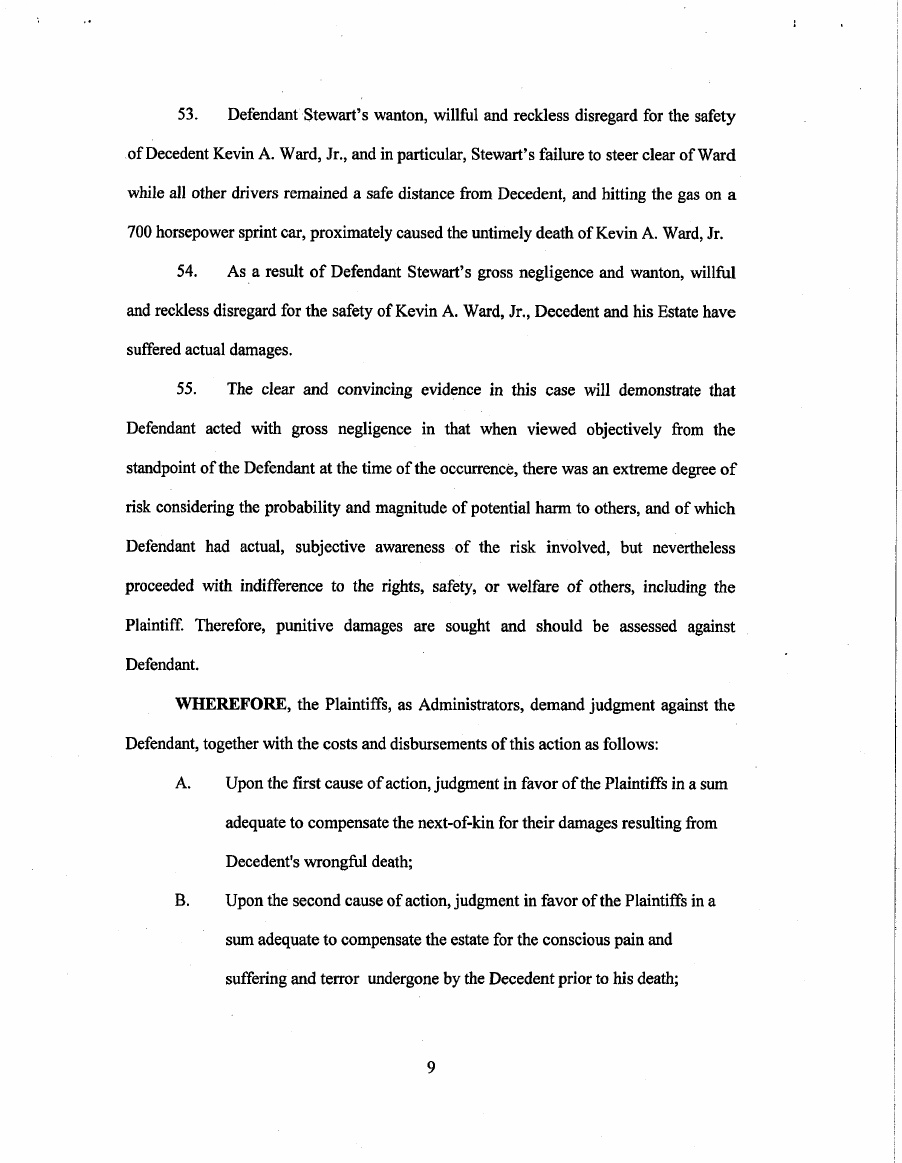 Tony Stewart Lawsuit Page 10