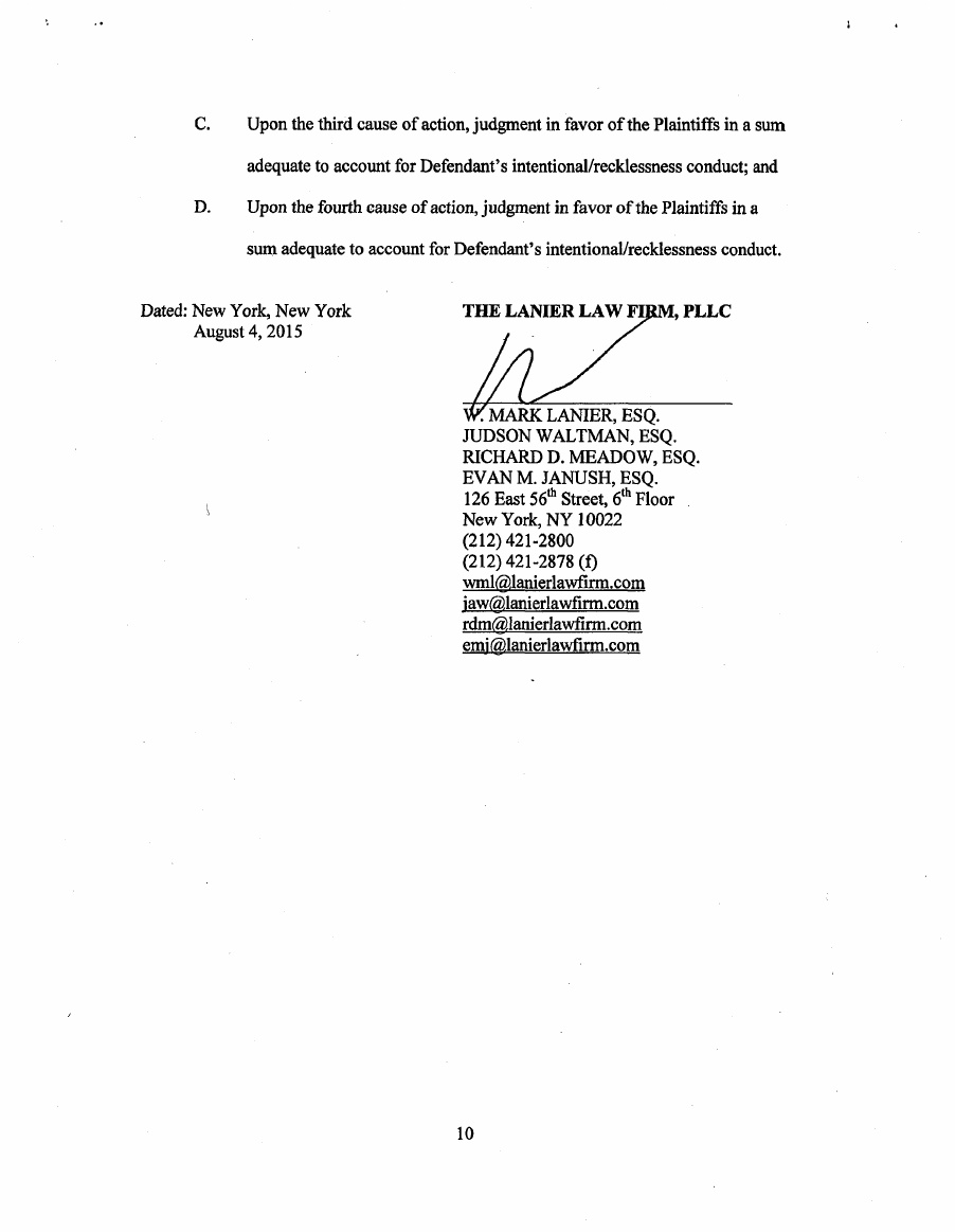 Tony Stewart Lawsuit Page 11