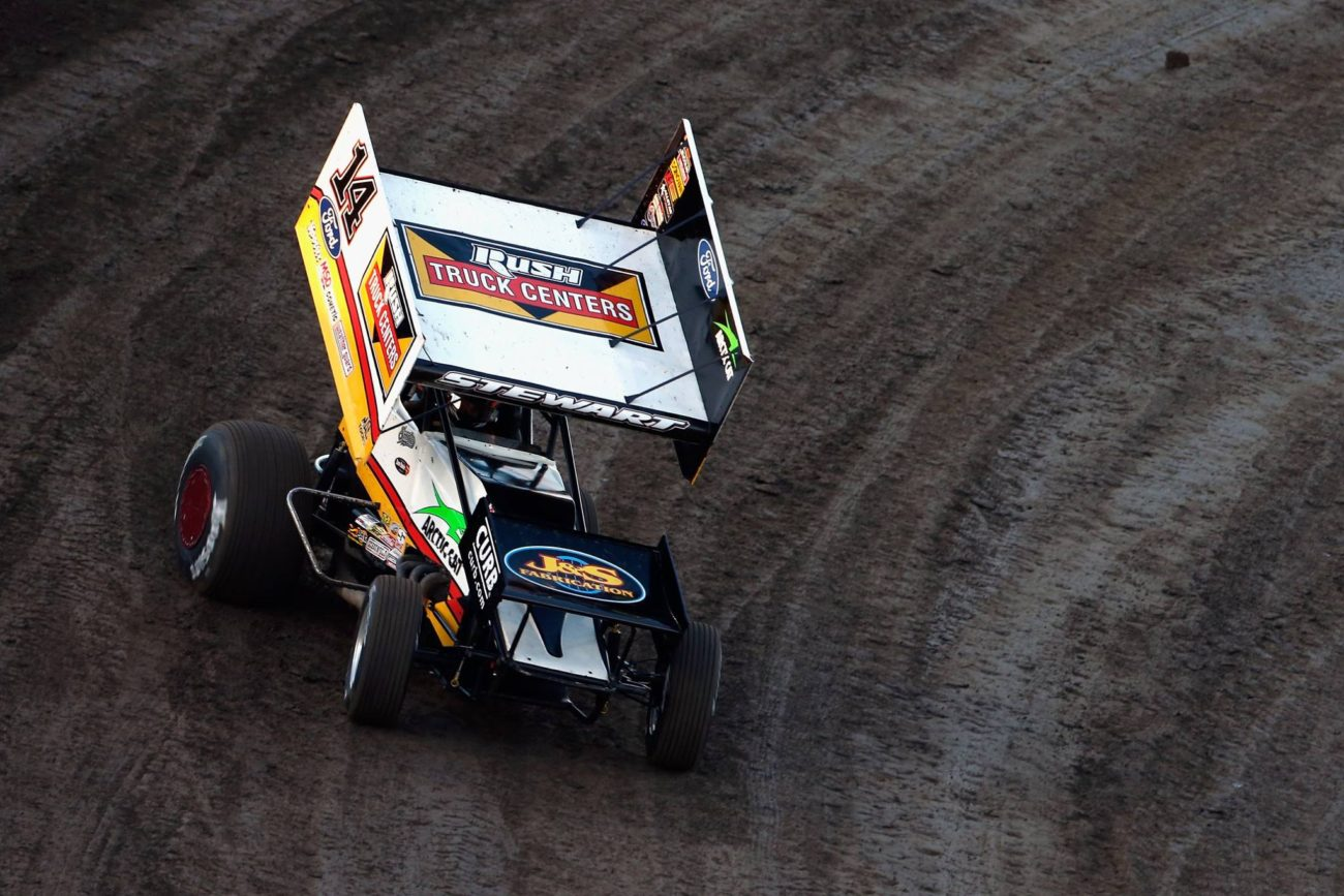 Tony Stewart Talladega Short Track Appearance - Sprint Car