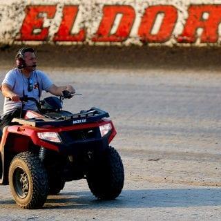 Tony Stewart at Eldora Speedway