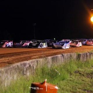 4 Wide Salute Fayetteville Motor Speedway 6265