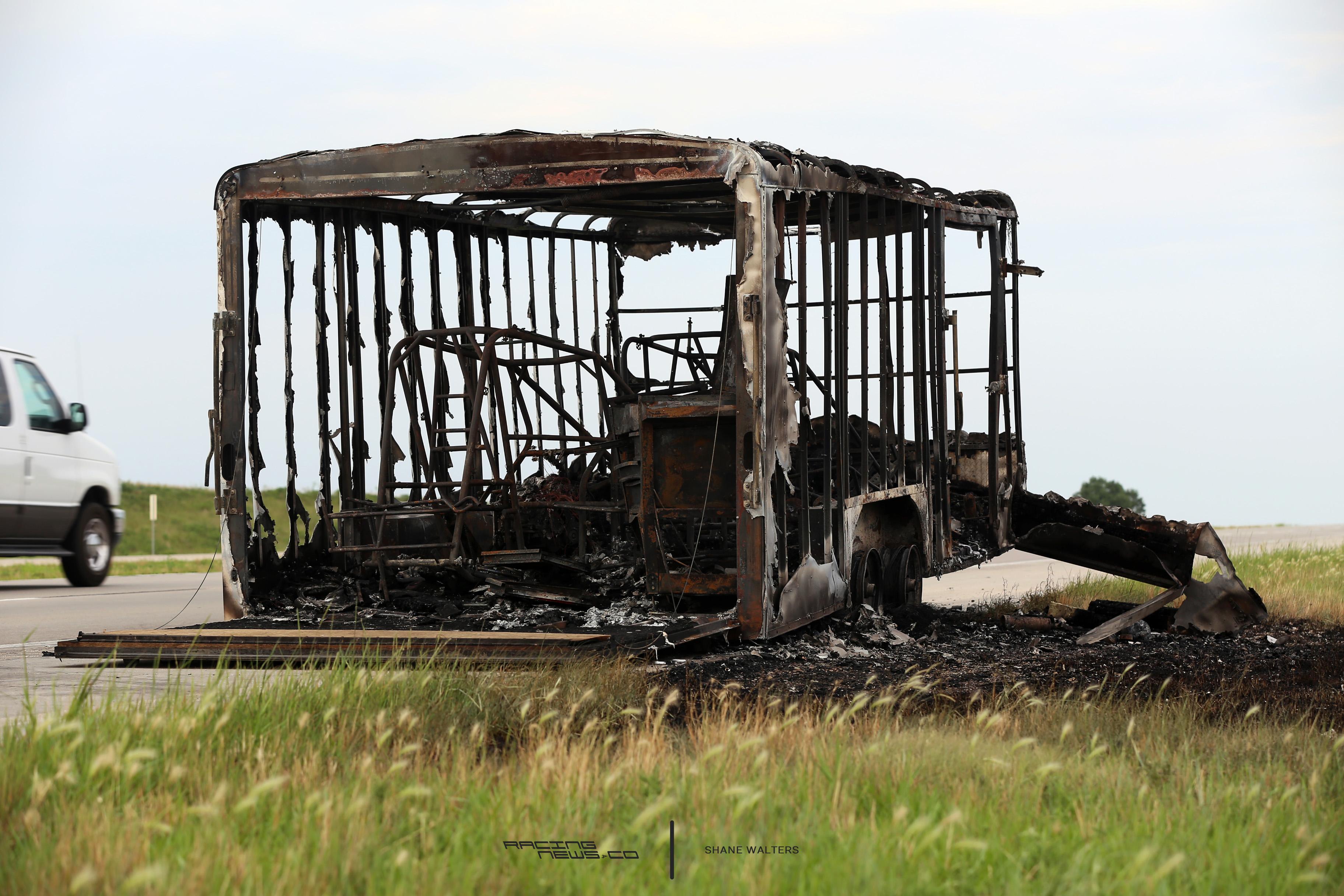 Abandoned Racing Hauler Fire 0551