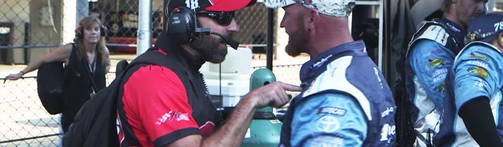 Behind the Scenes: Kyle Busch and Martin Truex crew confortation