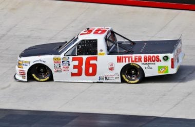 Bobby Pierce at Bristol Motor Speedway