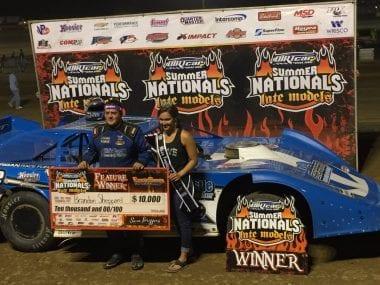 Brandson Sheppard wins Fayette County Speedway