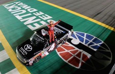 Christopher Bell Wins NASCAR Truck Series event at Kansas Speedway
