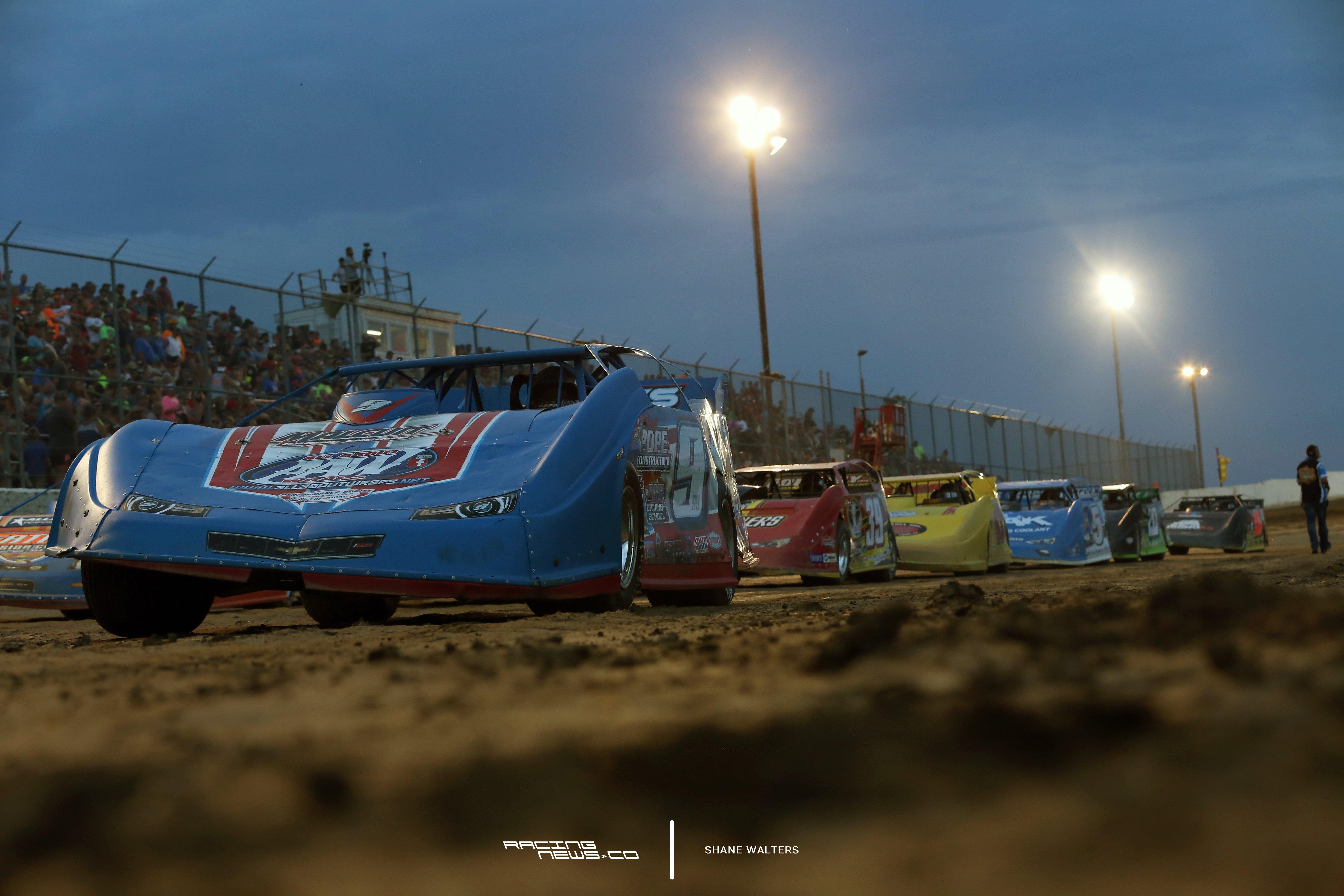 Devin Moran Muskingum County Speedway Results - July 3, 2017 - Lucas Dirt 5708
