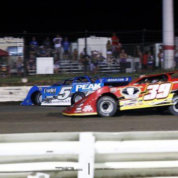 Don O'Neal Brian Shirley I-80 Speedway Crash 1133