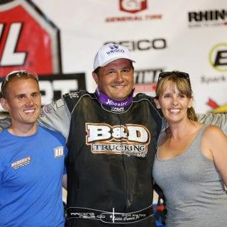 Eddie Carrier Jr Muskingum County Speedway Win 5956