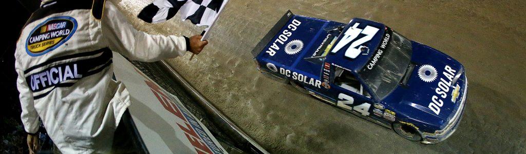 Kyle Larson 2018 Car: DC Solar