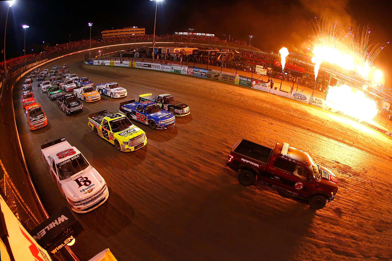 Eldora Speedway 4 Wide Salute - NASCAR Truck Series Results