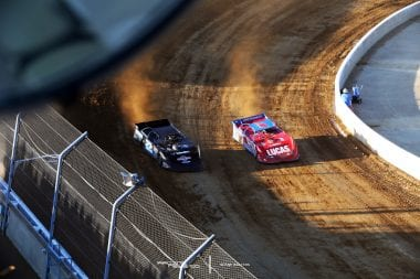 Gregg Satterlee and Earl Pearson Jr Mansfield Motor Speedway LOLMDS 4457