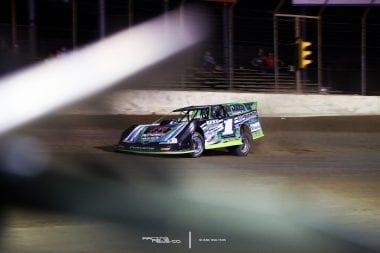 Josh RIchards Lucas Oil Late Model Dirt Series Point Leader