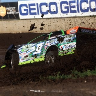 Josh Richards Lucas Oil Late Model Dirt Series Photos 7997