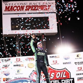 Josh Richards wins at Macon Speedway 2061