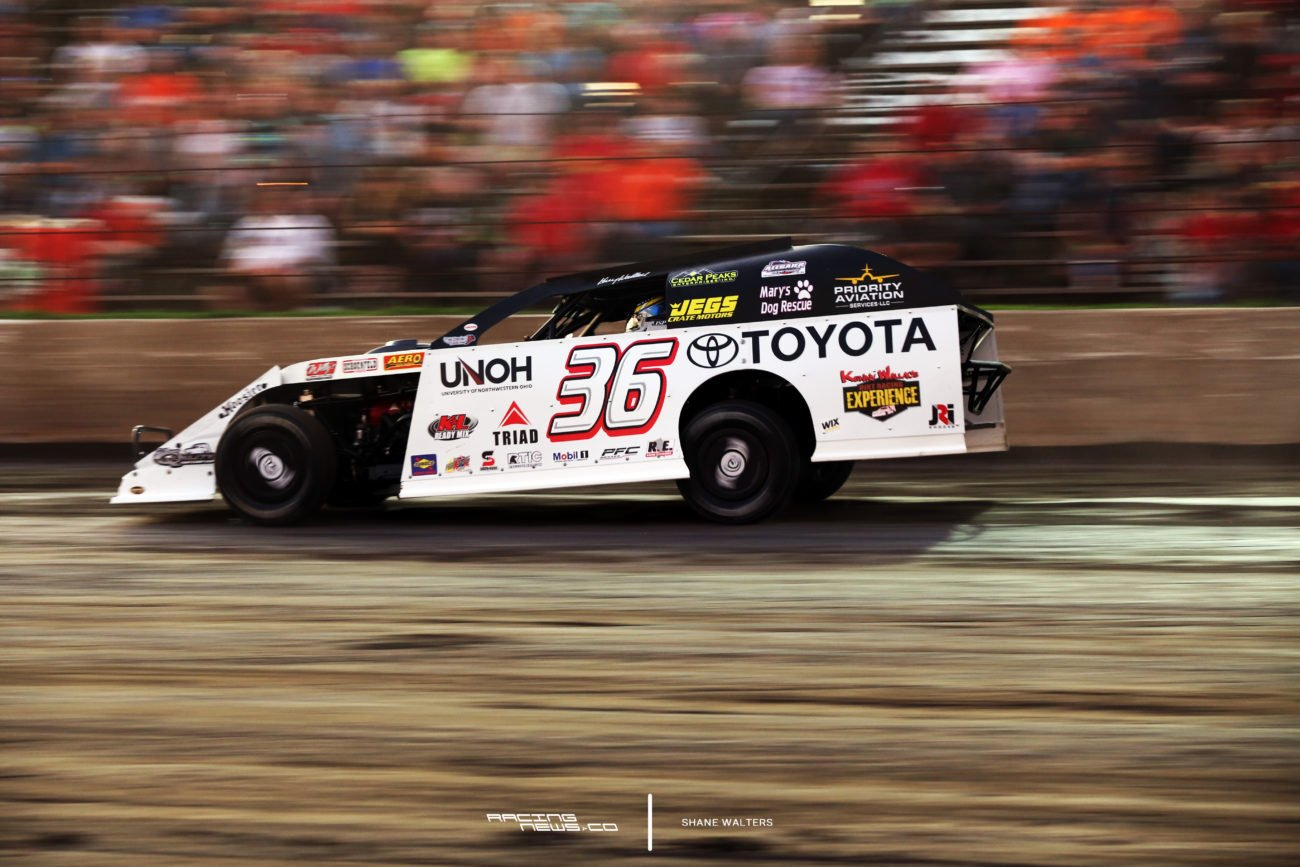 Kenny Wallace at Tri-City Speedway 2824