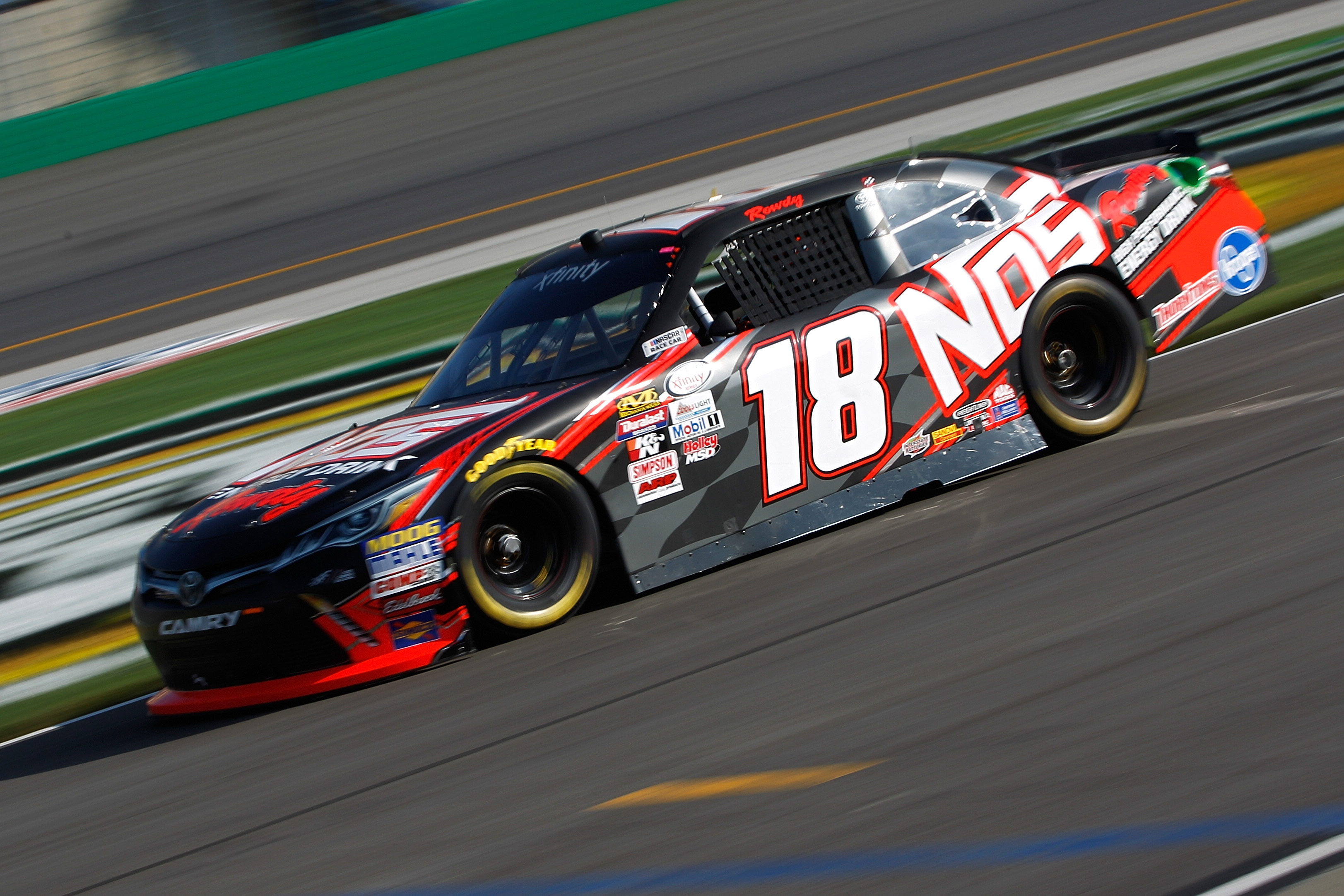 Kyle Busch NASCAR Xfinity Series Limits