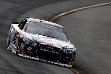 Kyle Larson Pocono Raceway - Driveshaft issue