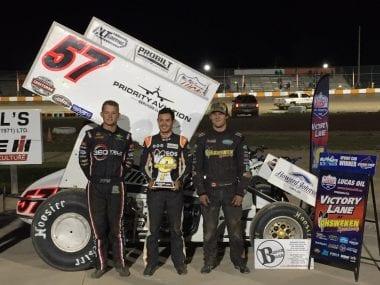 Kyle Larson dirt racing