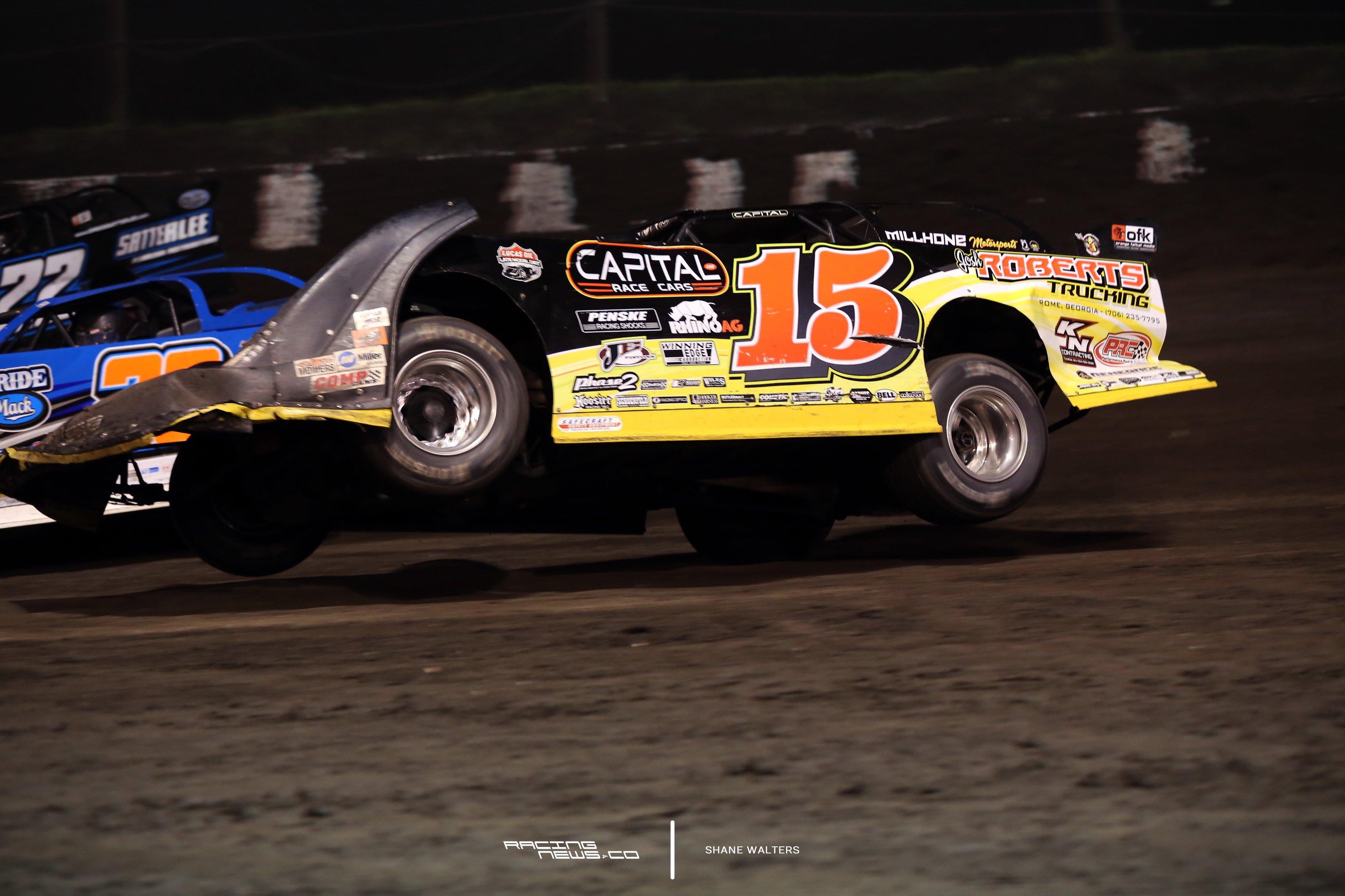Macon Speedway Bump 1989