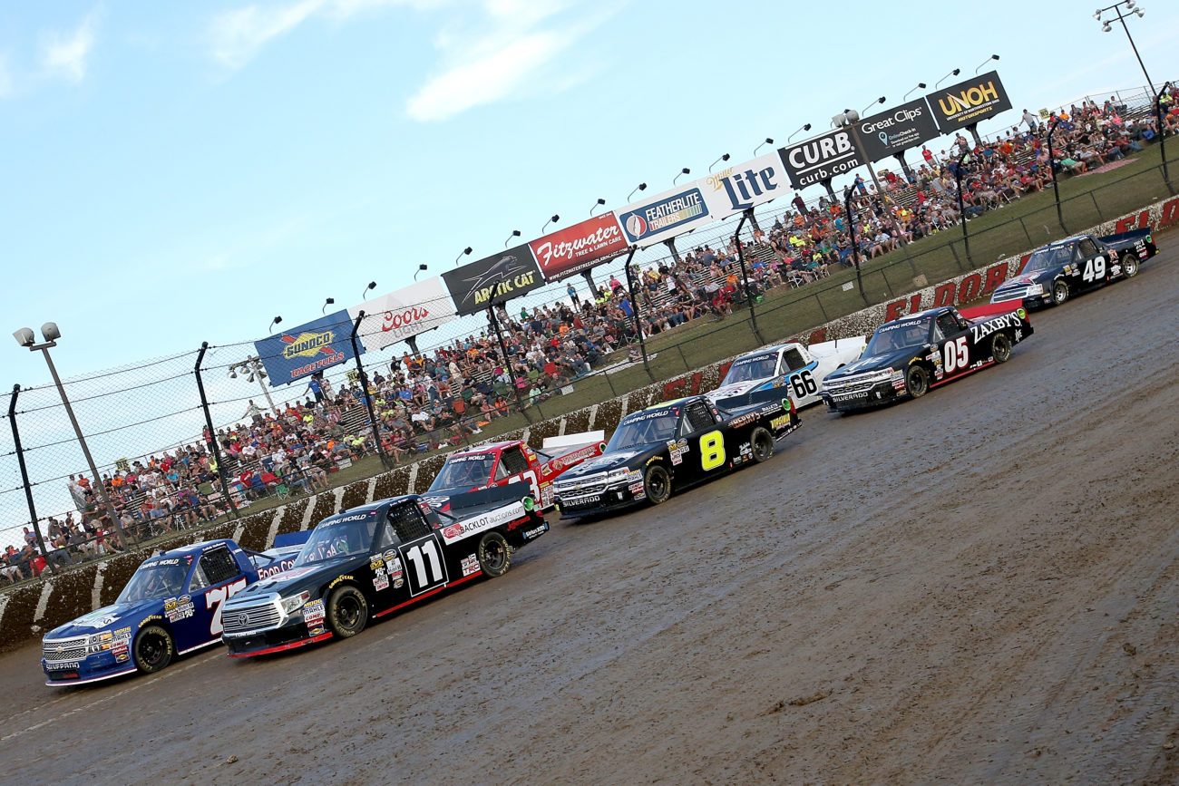 NASCAR drivers talk Eldora
