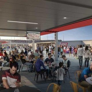 New Richmond Raceway Fan Area