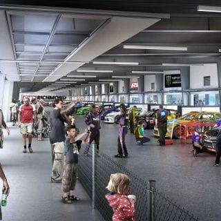 New Richmond Raceway Garage