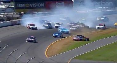Pocono Raceway Crash