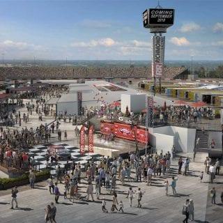 Richmond Raceway Construction Photos