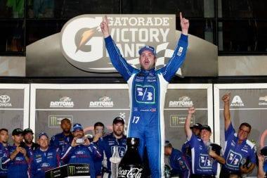 Ricky Stenhouse Jr wins at Daytona International Speedway