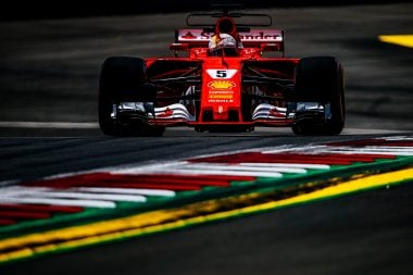 Sebastian Vettel on 2018 F1 Halo