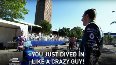 Sebastien Buemi vs the field at Montreal