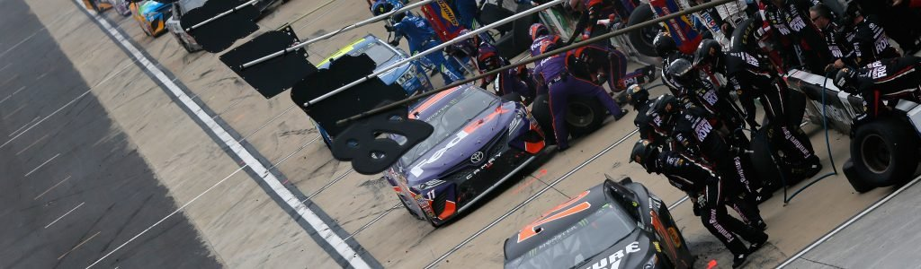 NASCAR is now requiring teams to use nitrogen in their pit guns